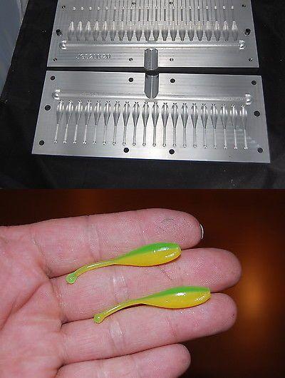 Soft Plastics 31691: Injection 2 Jgs200 8 Cavity Crappie