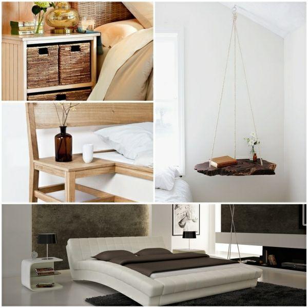 Nachttisch Design Schlafzimmer Einrichten Möbel Ideen