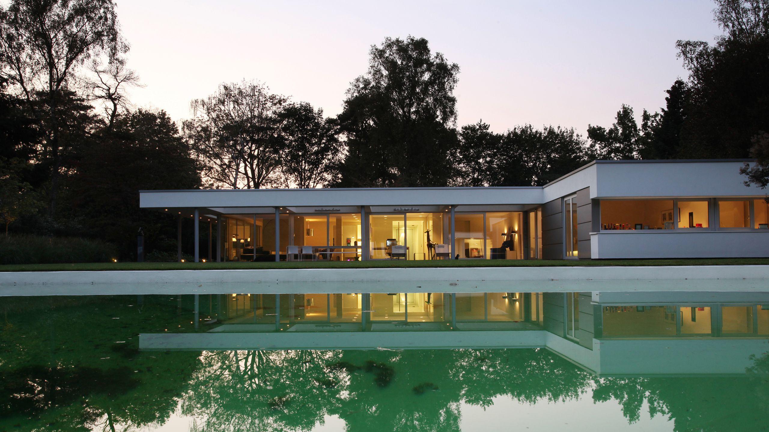 Lab32 architecten moderne eigentijdse architectuur for Woningen moderne villa