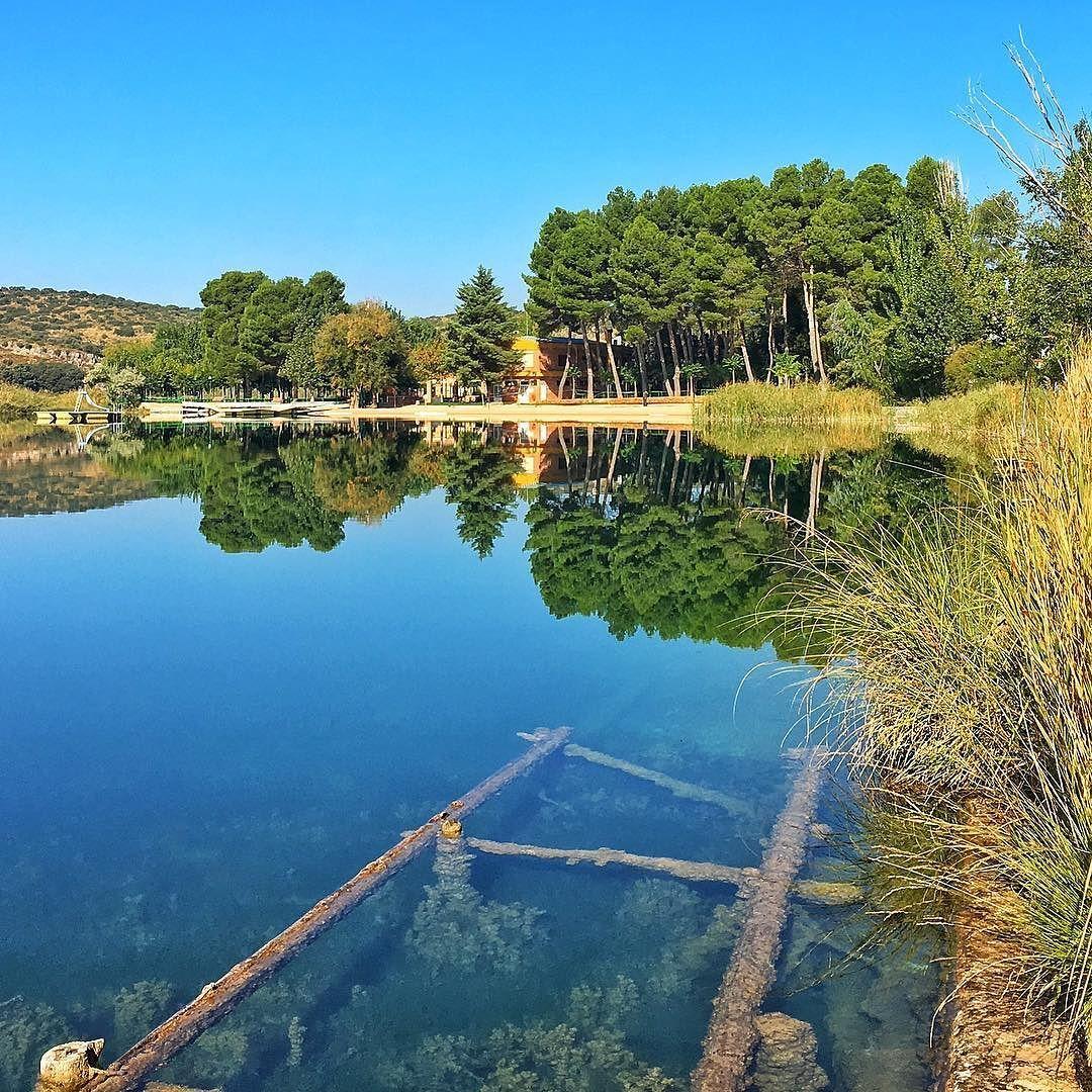 Realidad o ficción dónde estás tú?  Parque Natural de las Lagunas de Ruidera #nature #photography