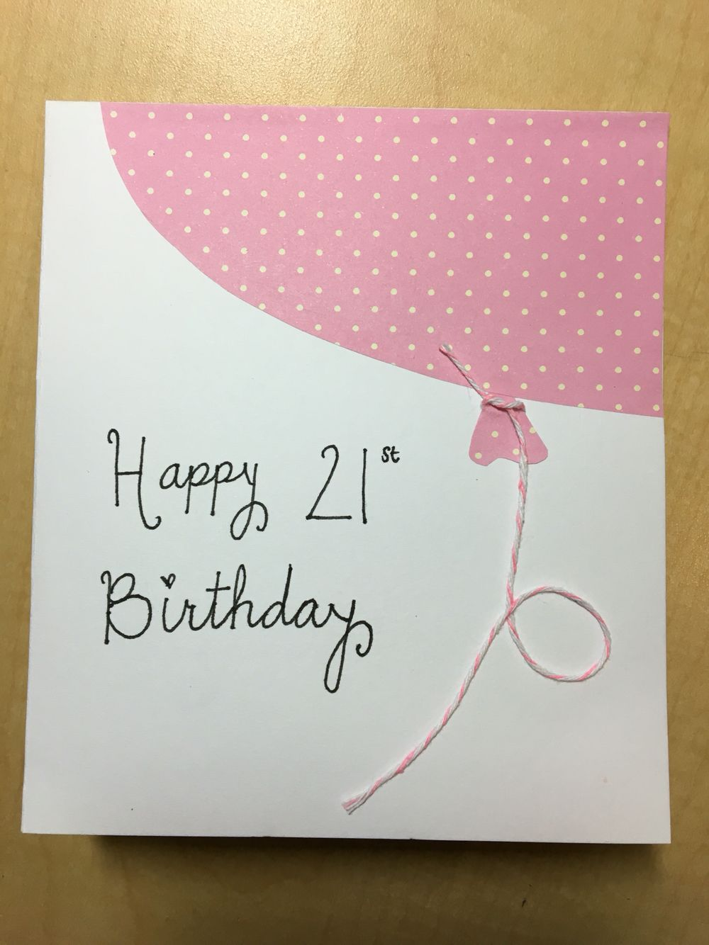 Diy 21st Birthday Card 21st Birthday Cards Diy 21st Birthday Cards 21st Birthday Diy