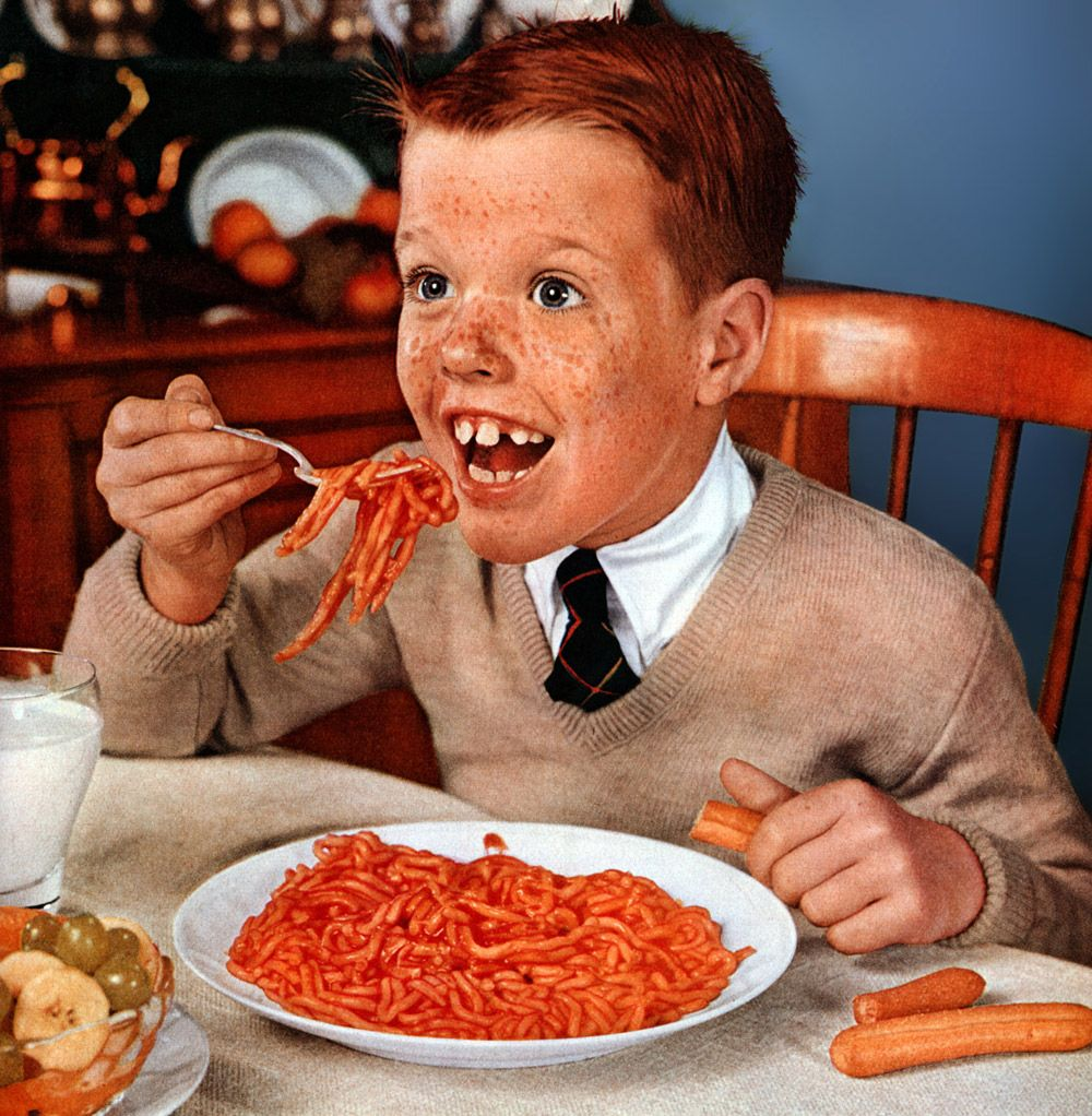 Spaghetti Boy | Weird vintage ads, Creepy vintage, Weird vintage
