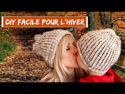 Diy I Realiser Un Bonnet Pour Lhiver Avec Le Tricotin De
