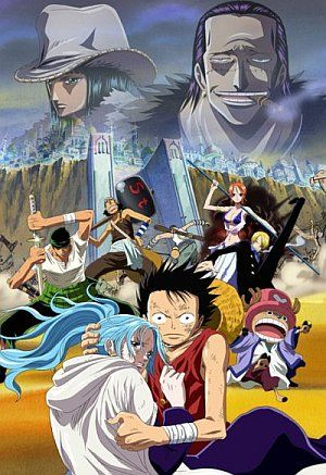 Info One Piece Movie 8 The Desert Princess And The Pirates One