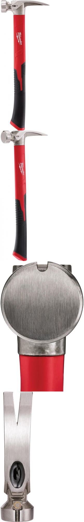 Hammers and Mallets 20763: Milwaukee Smooth Face Framing Hammer Poly ...