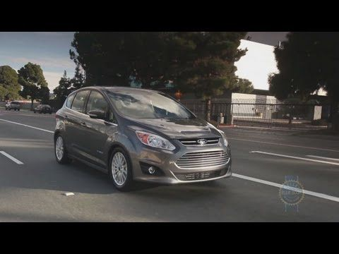 2013 Ford C Max Hybrid Video Review Kelley Blue Book