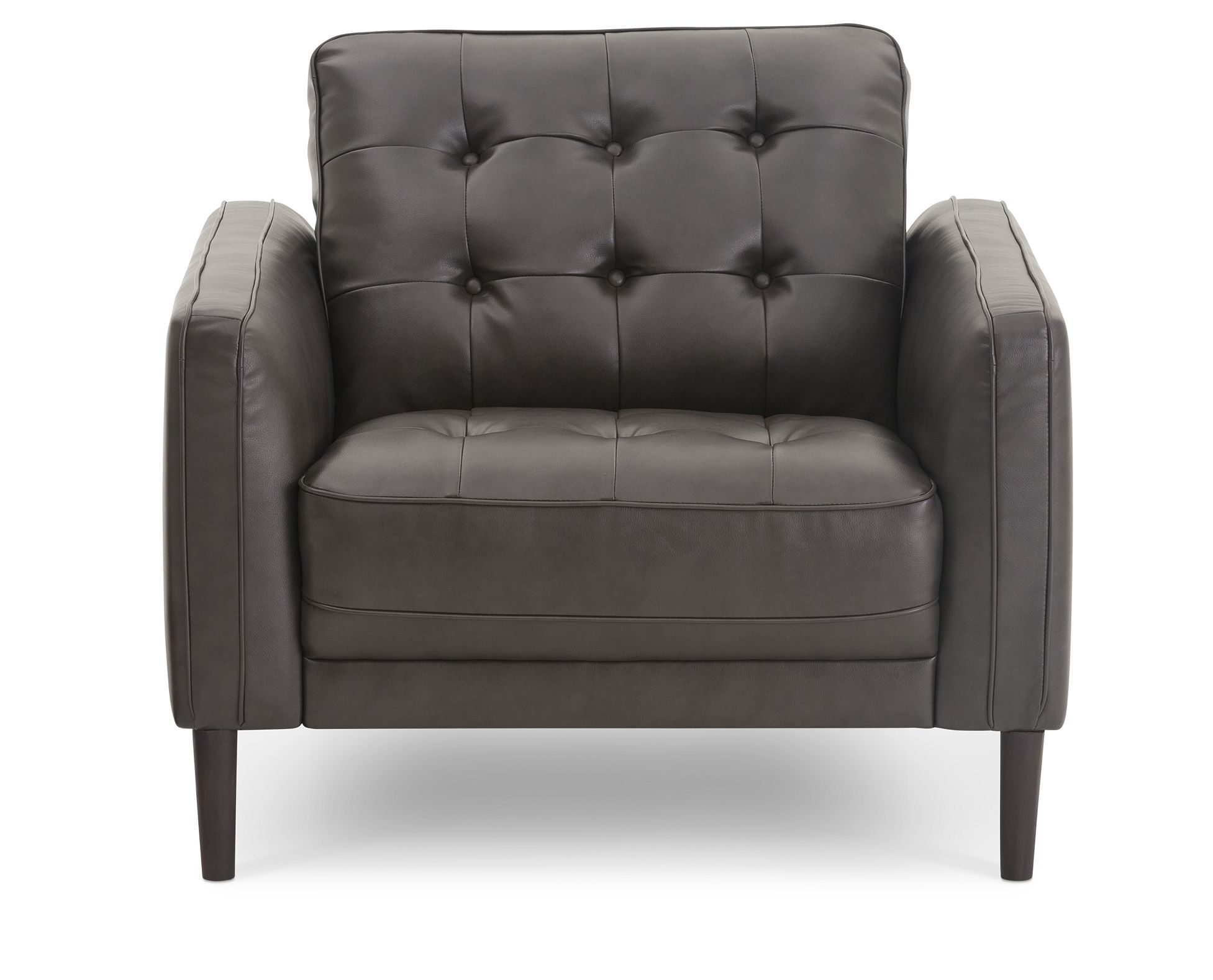 Best Clearance Savings Leather Like Peyton Chair Is Discounted 400 x 300