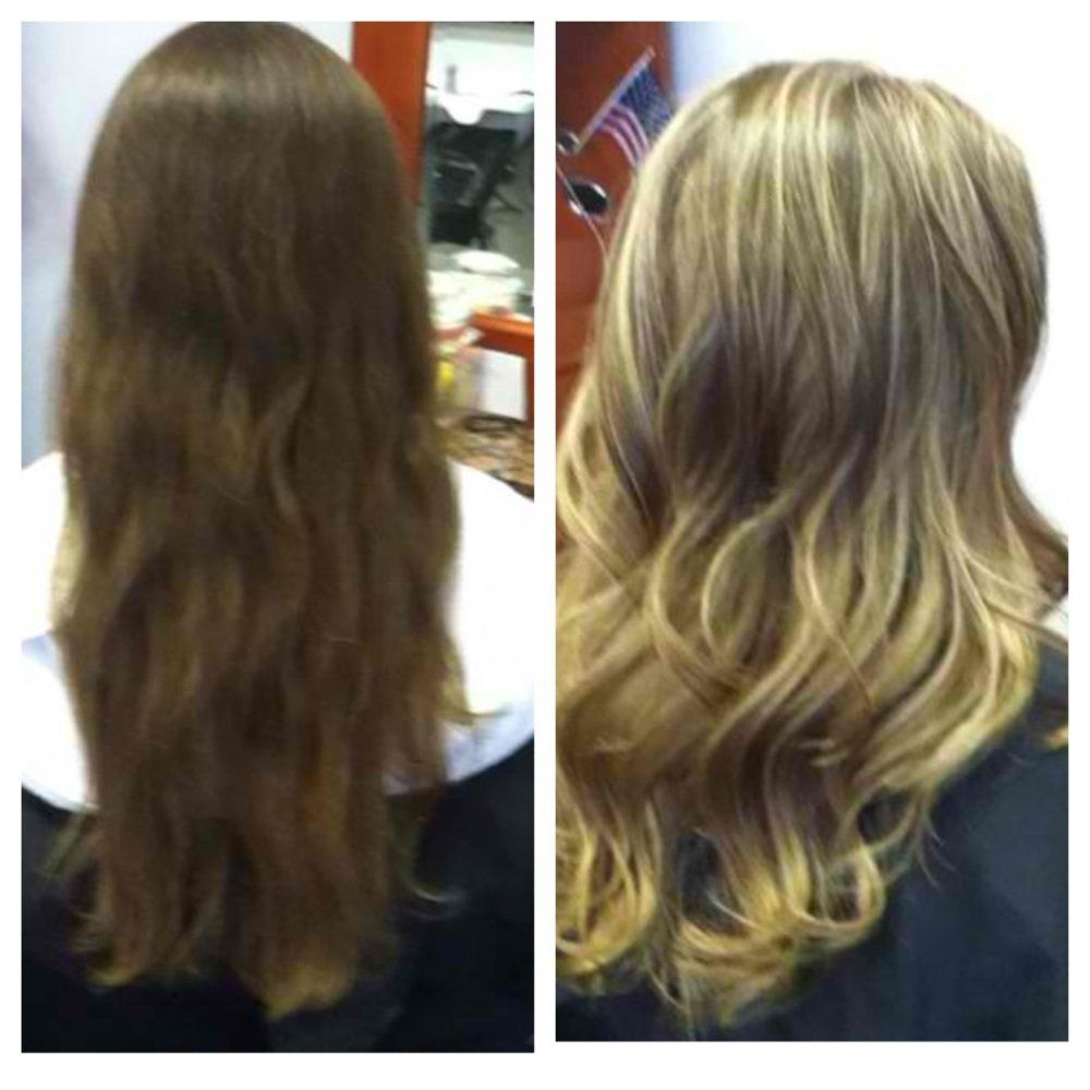 Highlights Before After Google Search Blonde Highlights