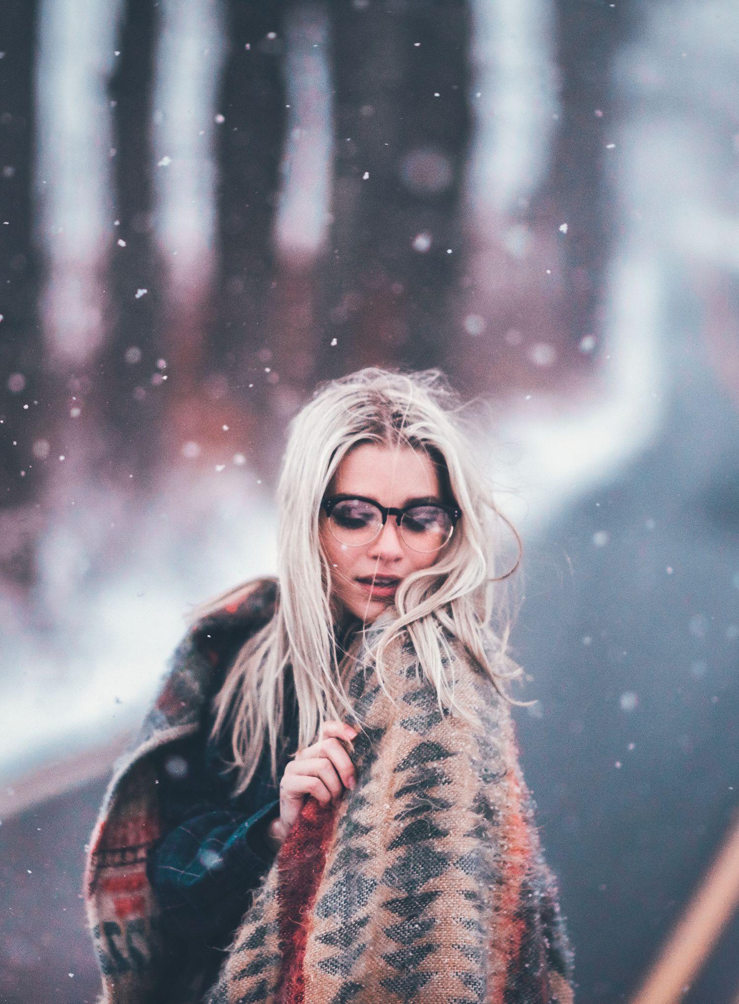 Winter Clear Half Frame Round Retro Non Prescription Glasses - WearMe Pro f7918f9c6c24