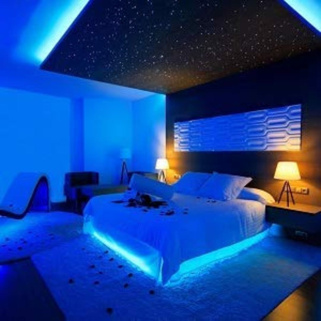 rxment 5m led strips lights in 2020  luxurious bedrooms
