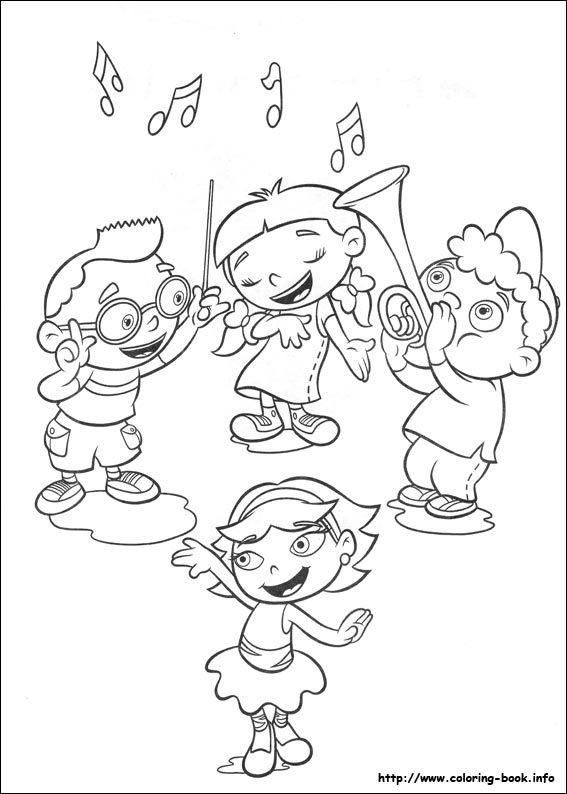 Little Einsteins coloring picture | Disney Coloring Pages | Pinterest