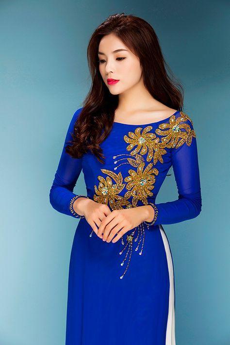 Chọn áo dài sành điệu như phái đẹp Sài thành-Thời trang