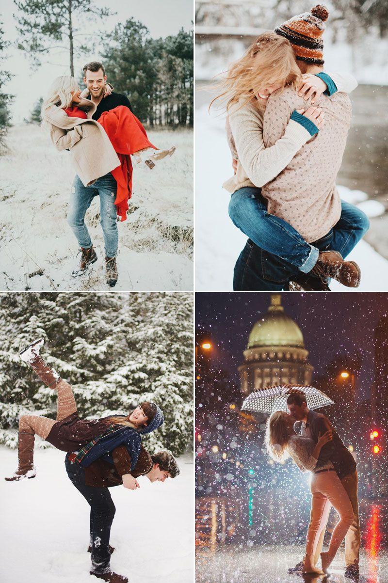 20 süße Weihnachts-Foto-Ideen für Paare, um Liebe zu zeigen …   – Xmas Ideas