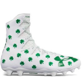 9a2603b23af UA Limited Edition Shamrock Highlight Lacrosse Cleats
