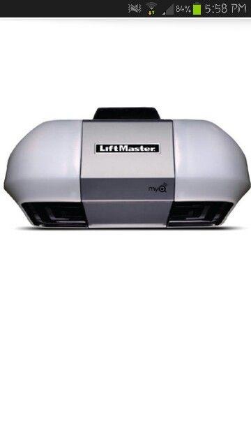 Liftmaster 8355 Belt Drive Liftmaster Liftmaster Garage Door Garage Door Opener