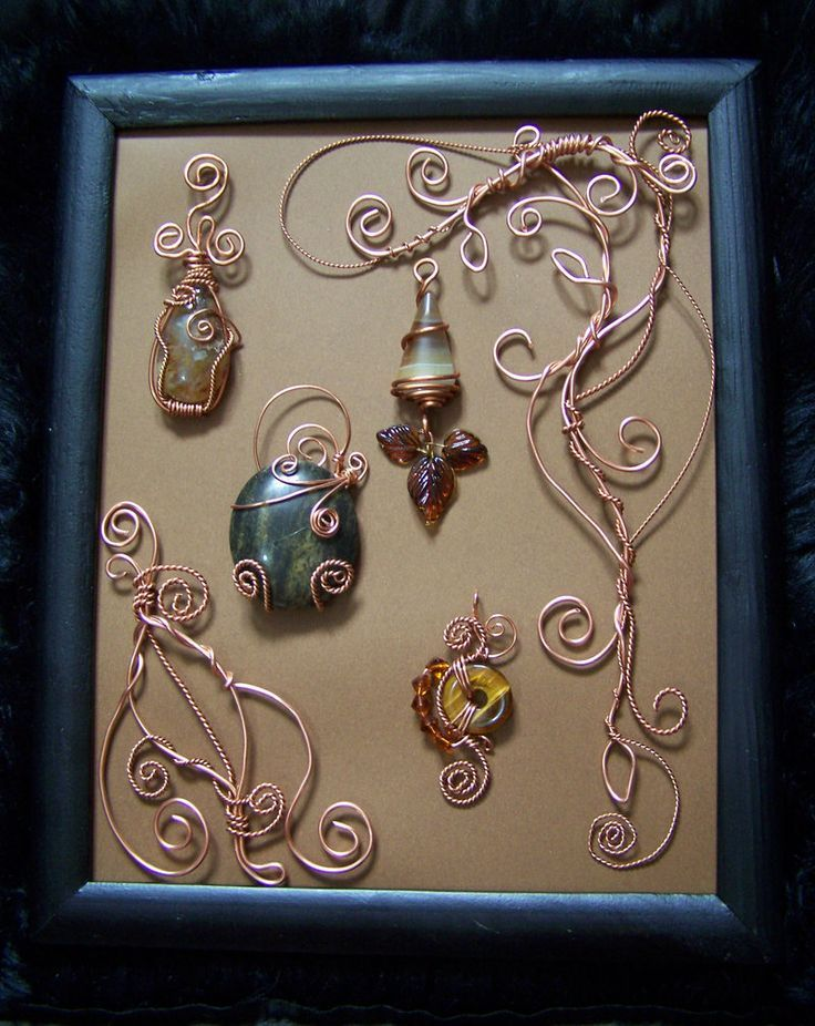 Wonderful Copper Wire Craft Projects Contemporary - Electrical and ...