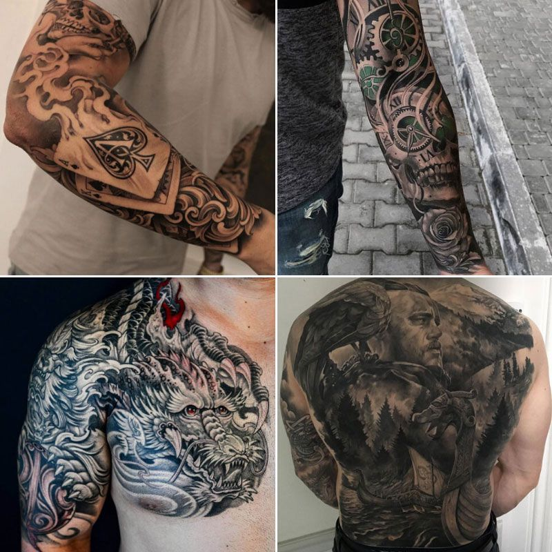 125 Best Tattoo Ideas For Men in 2020 Tattoos for guys