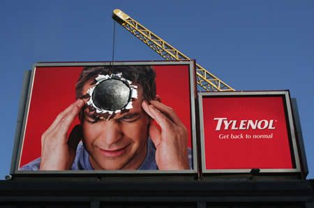 #BoldBillboards #BeBrilliant #GEM #Tylenol