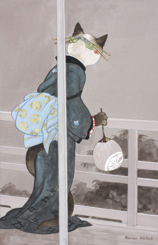 UN BEL DI by SUSAN HERBERT original artwork for sale