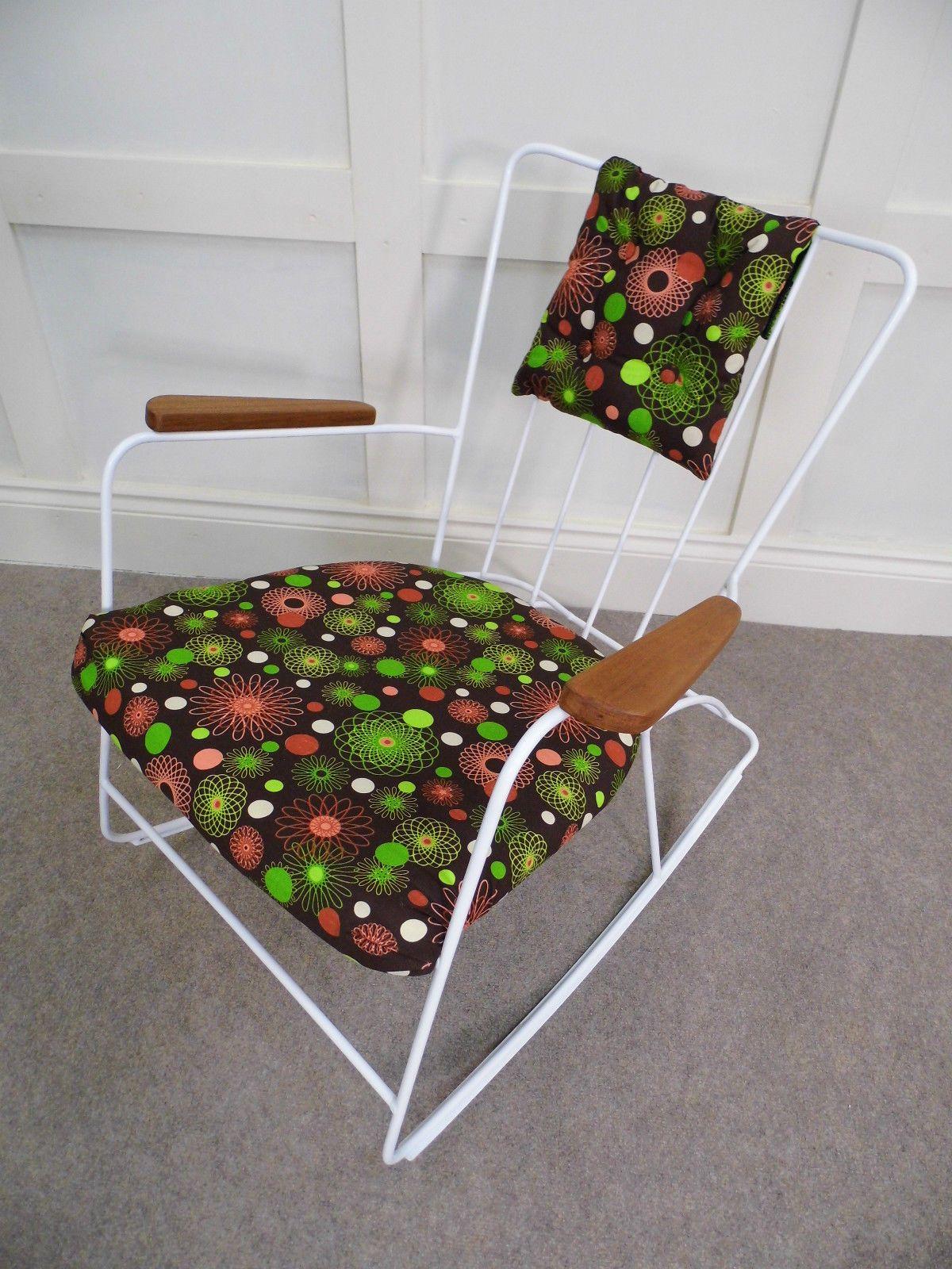 ernest race rocking armchair   Reupholster, Armchair