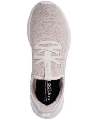 9a547fe7 adidas Women's Cloudfoam Pure Running Sneakers from Finish Line - White 5.5