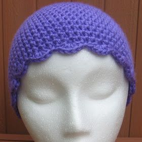 Crochet Chemo Sleep Cap Pattern This pattern is by no means an original.  Many different parts were pulled from ot. 41c2d0cc86b