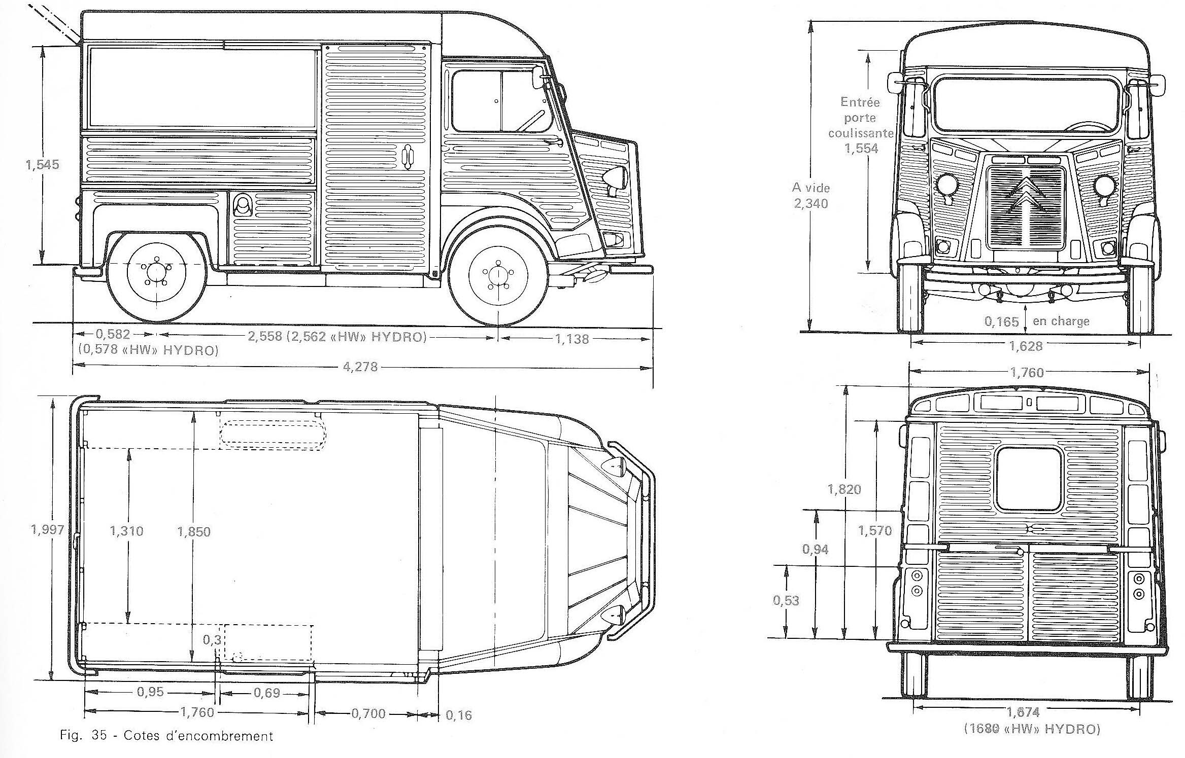 Citroen Hy Blueprint