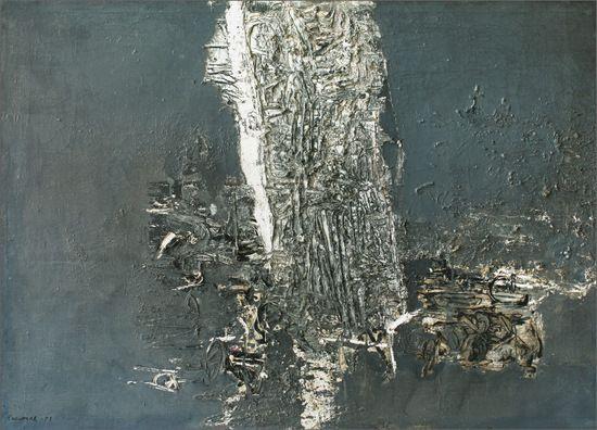 Pintura nº 1 ,Óleo sobre lienzo