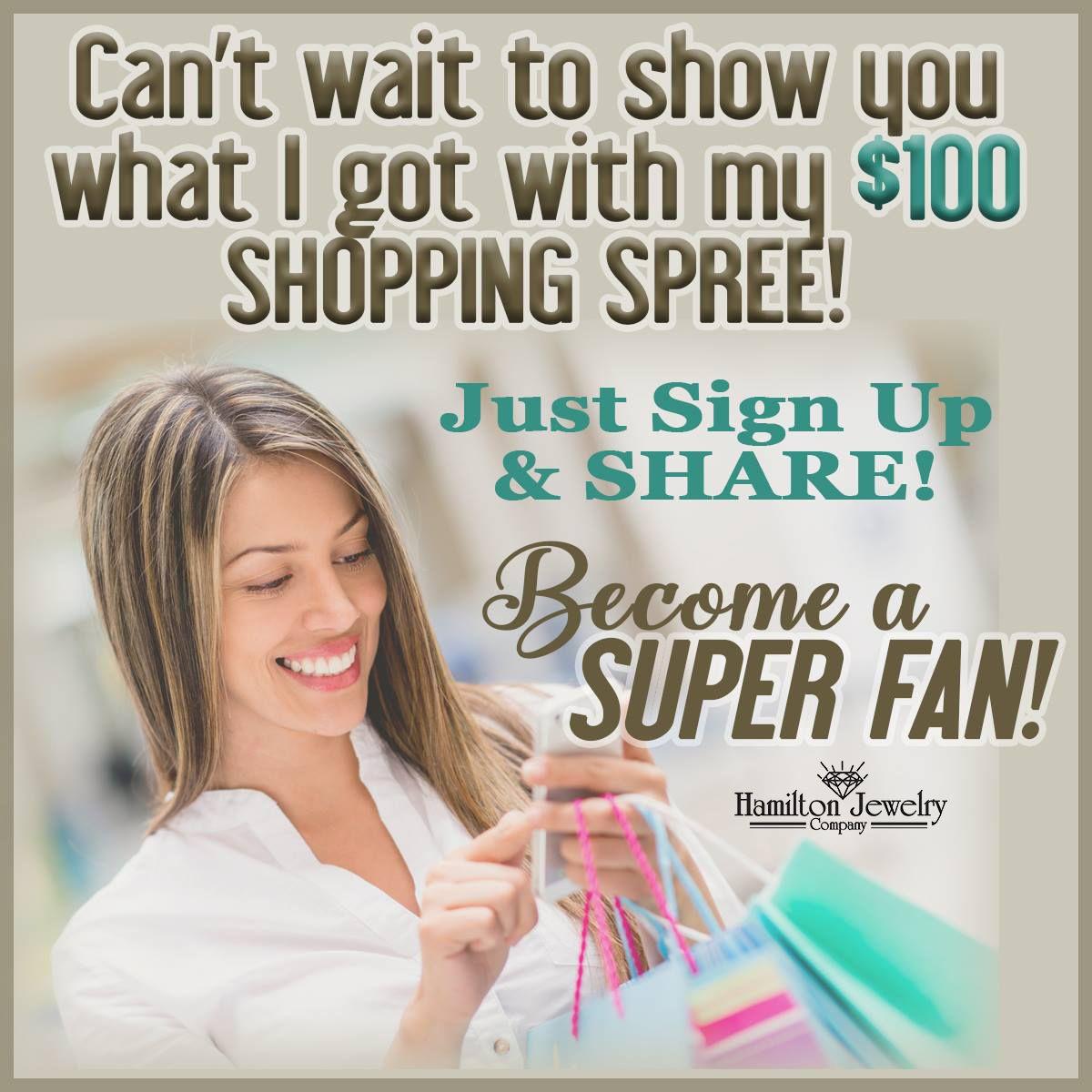 Let S Go Shopping Superfan Shoppingspree Gemperks