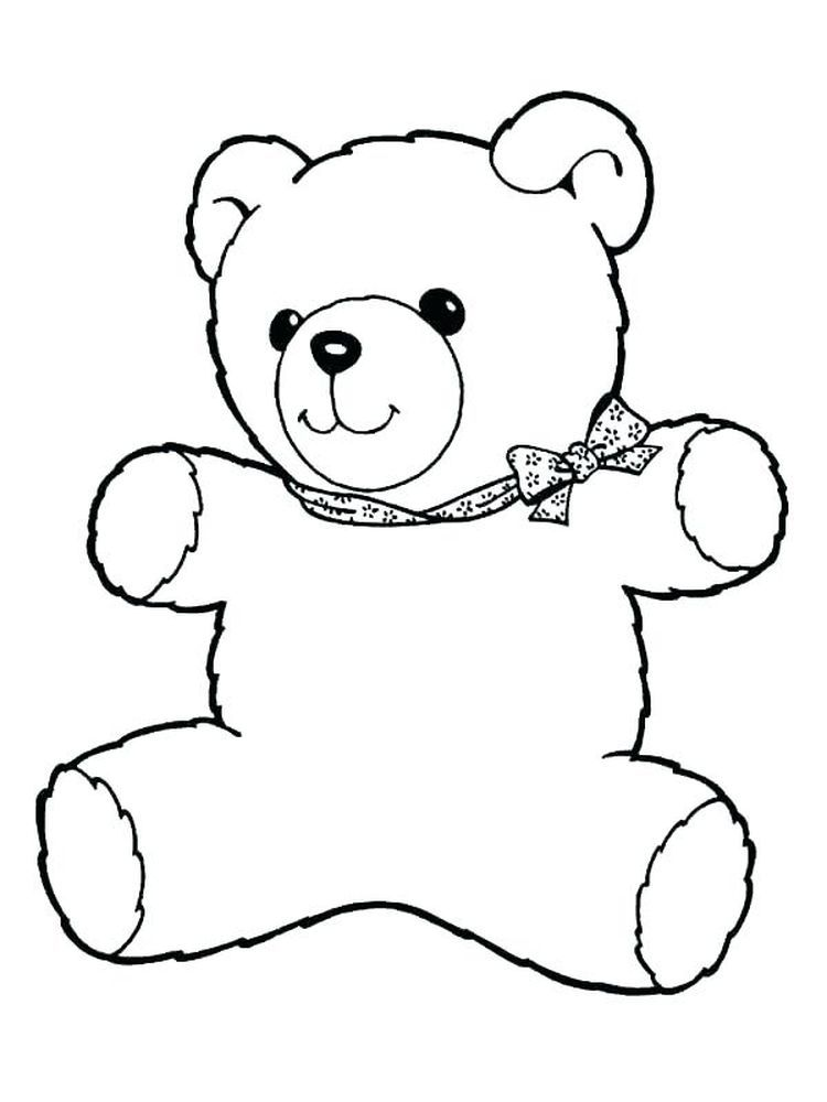 Teddy Bear Coloring Pages Free Printable The Following Is Our Bear Coloring Page Collect Teddy Bear Coloring Pages Teddy Bear Drawing Easy Bear Coloring Pages