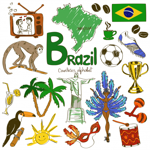 Brazil Culture Map Girl Scouts