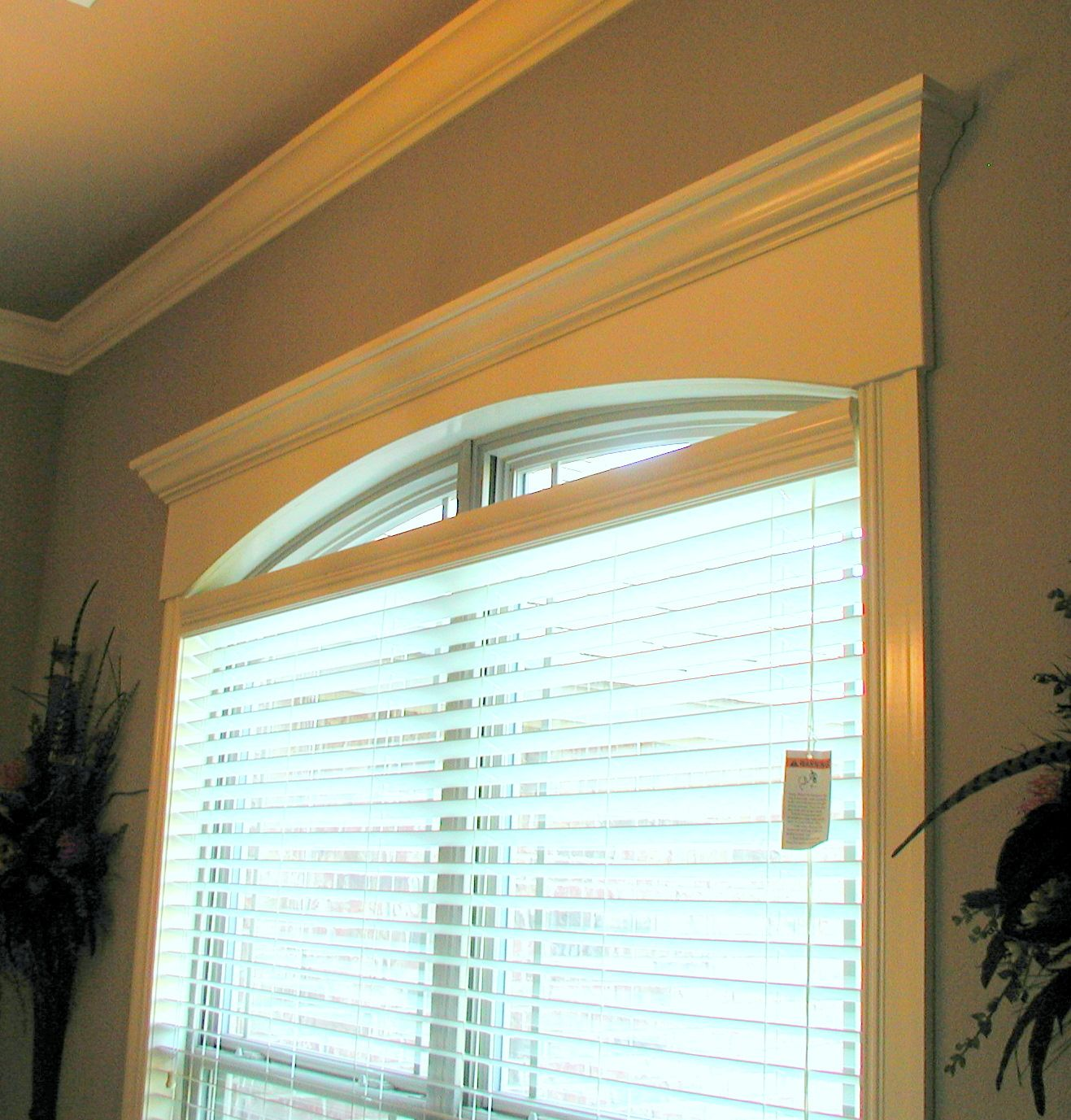 Blinds for curved windows - Doorway And Window Molding