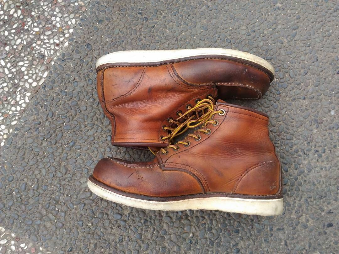 Red Wing Shoes 875 Size 41 Us 8 Kondisi Msh Aman Red Wing Shoes Red Wing Boots Boots