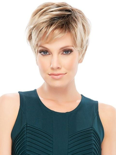 15 Tremendous Short Hairstyles For Thin Hair Pictures And Style Tips Short Thin Hair Short Pixie Wigs Short Hair Styles
