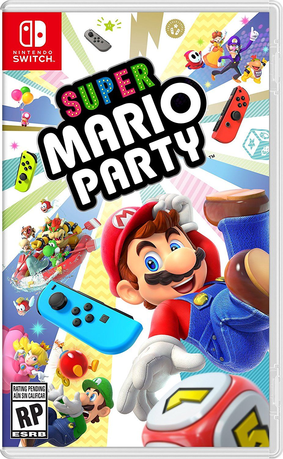 Super Mario Party Nintendo Switch Release Date December 28 2018