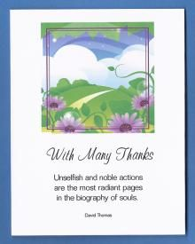 christian thank you cards these cards have a picture and saying on