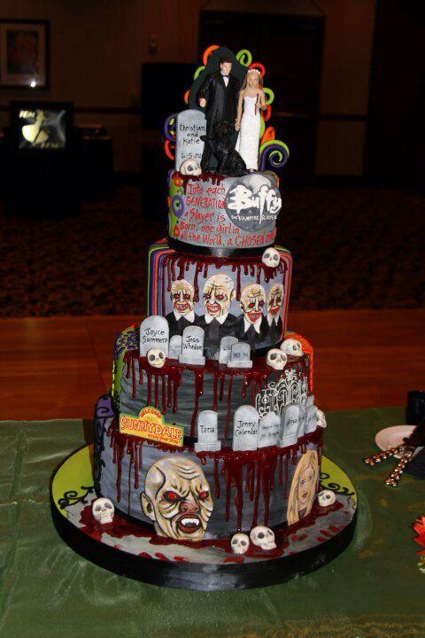 Buffy Cake Squeeeeeee The White Flower Cake