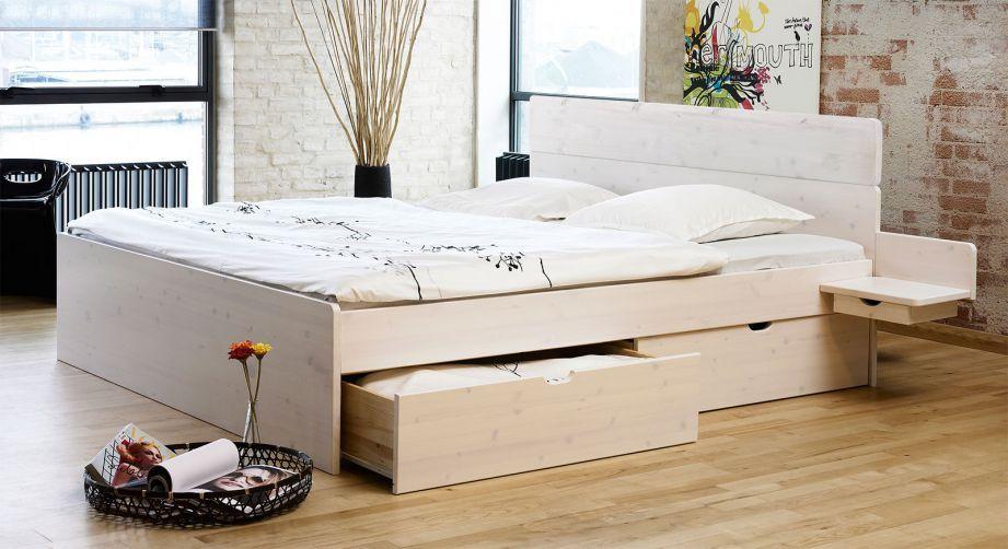 Bett Mit Schubkasten In Der Grosse 180x200cm Finnland Bett Mit Bettkasten Bett 200x200 Bett Mit Bettkasten 180x200