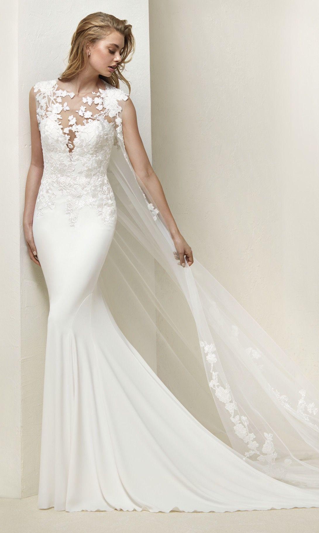 45362503565d Pronovias 2018 Collection DRIAL Mermaid Wedding, Tulle, Wedding Dresses,  Beautiful, Fashion,