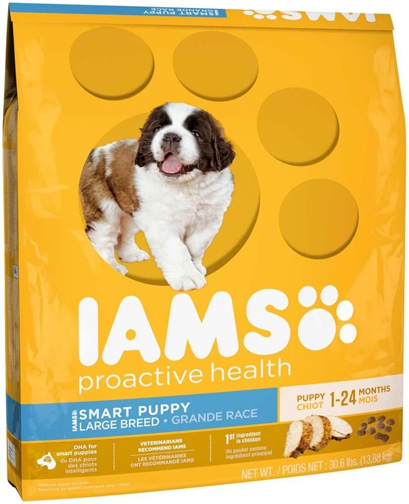 Iams Proactive Health Smart Puppy Large Breed Dry Puppy Food 30 6