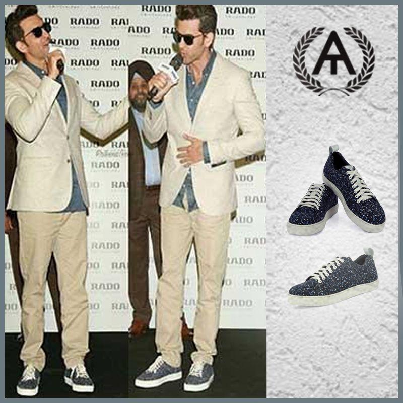 shoes!  Hrithik Roshan wears