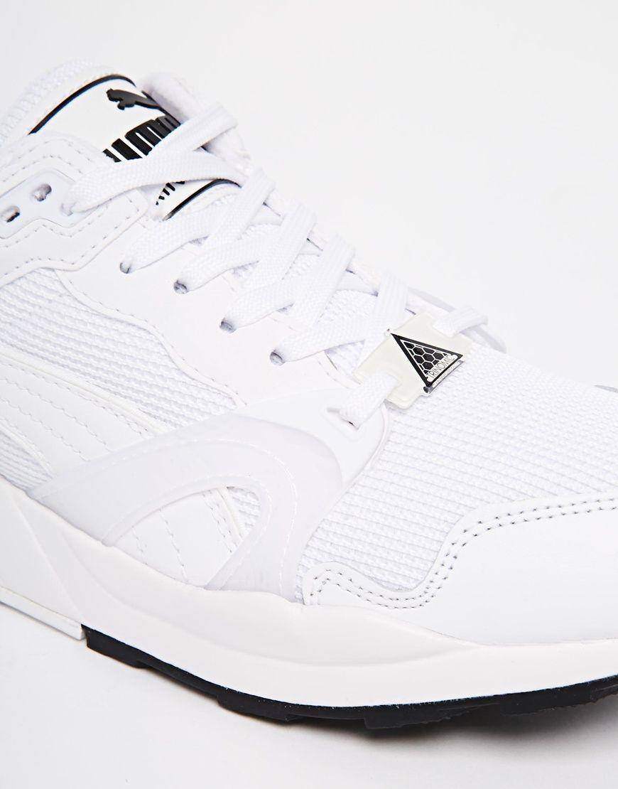 puma trinomic xt1 blanche