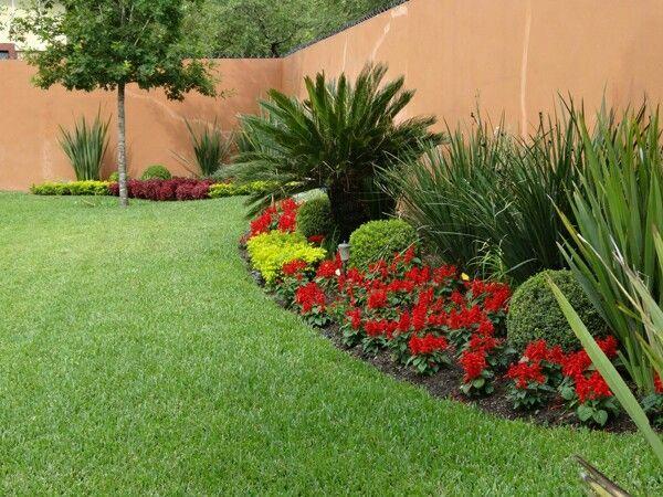 resultado de imagen para jardines modernos con palmas