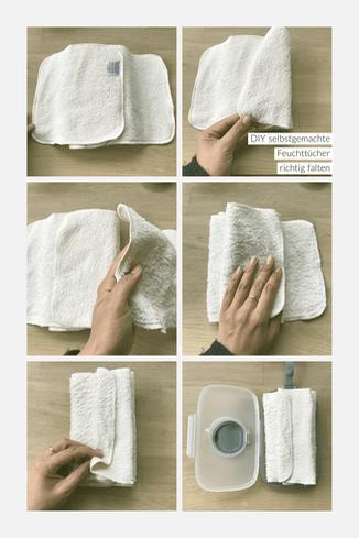 Selbstgemachte Feuchttücher Rezept und ein Lillydoo Feuchttuch Test