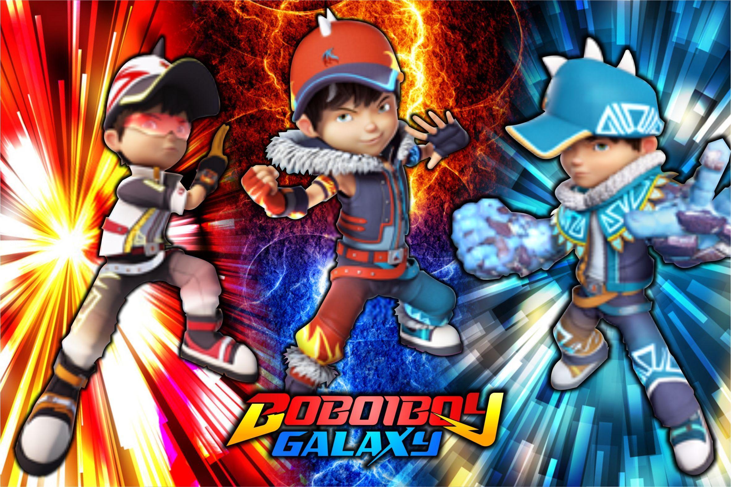 Boboiboy Fusion In 2021 Boboiboy Fusion Anime Galaxy Boboiboy Anime