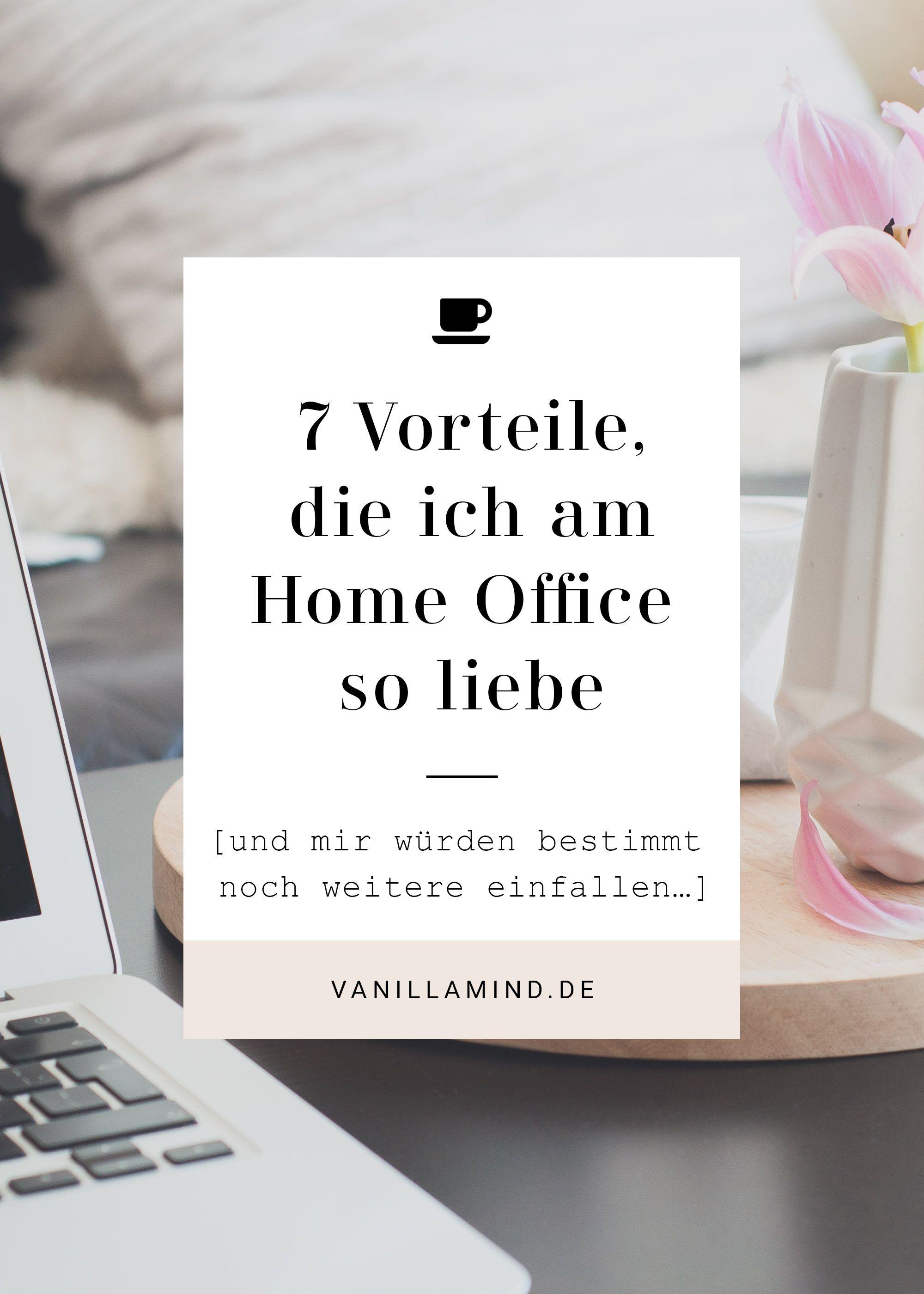 Home Office vs. Büro Arbeitsplatz   Seit ich meinen Job gekündigt ...