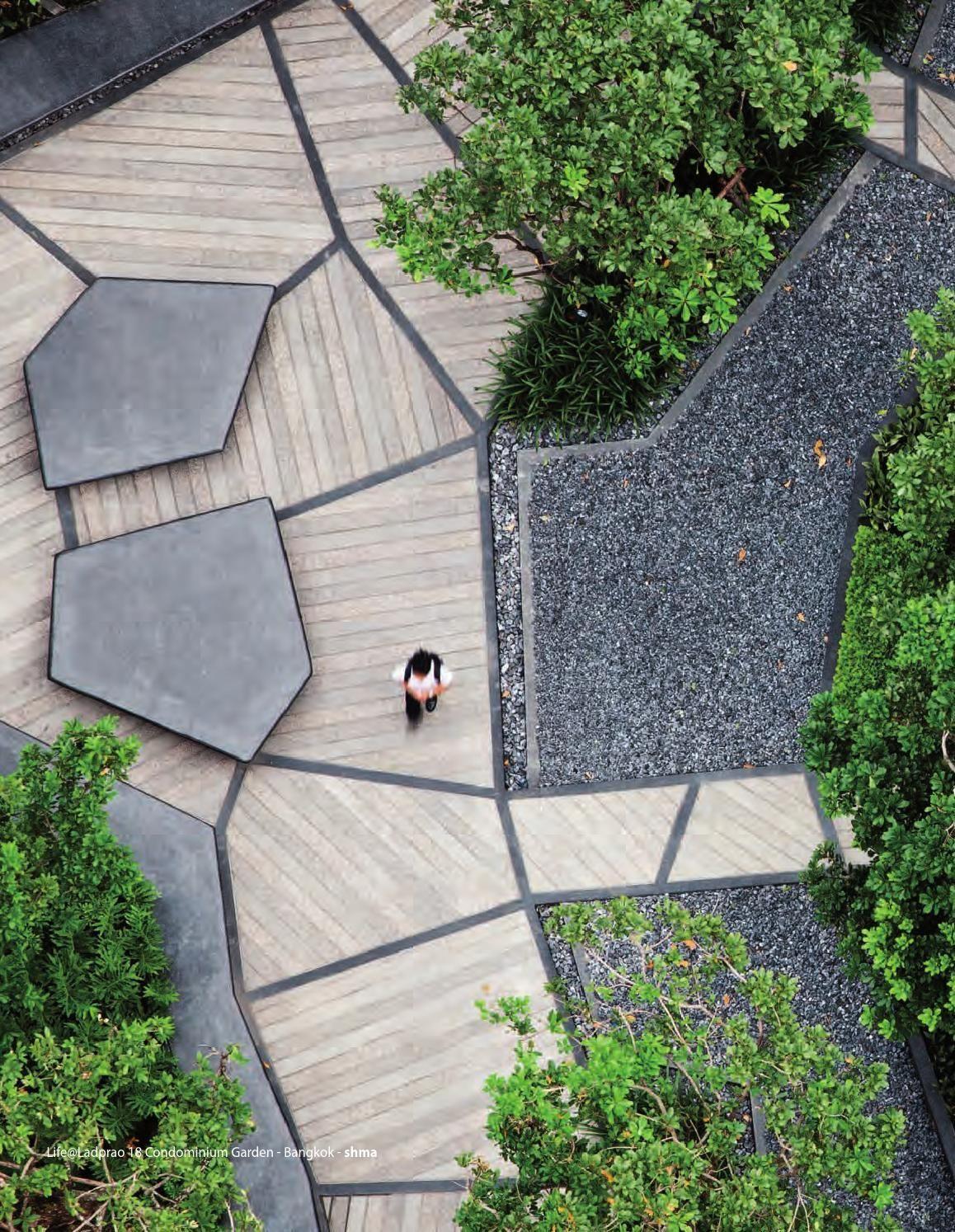 Thai Modern Urban Landscape Design Landscape Architecture Design Modern Landscaping