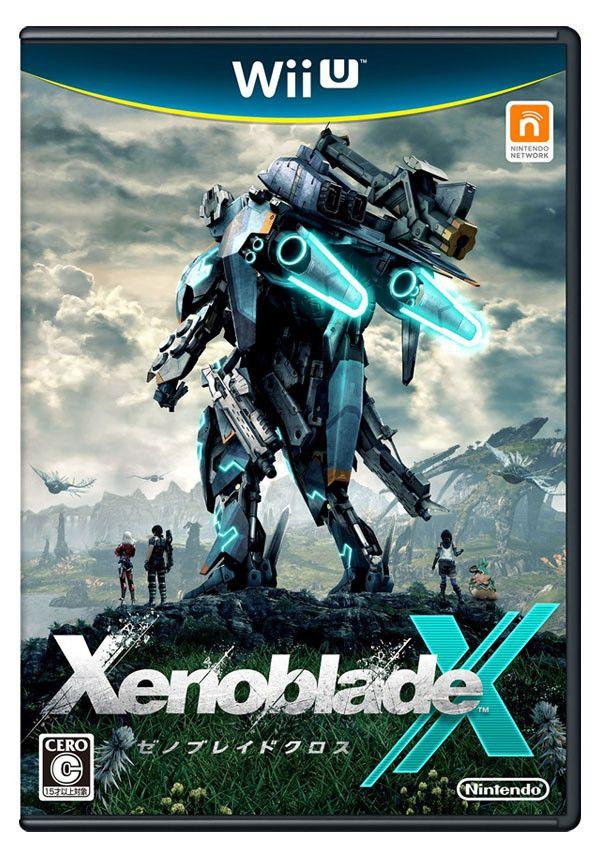 Xenoblade Chronicles X Japanese Box Art Revealed Xenoblade