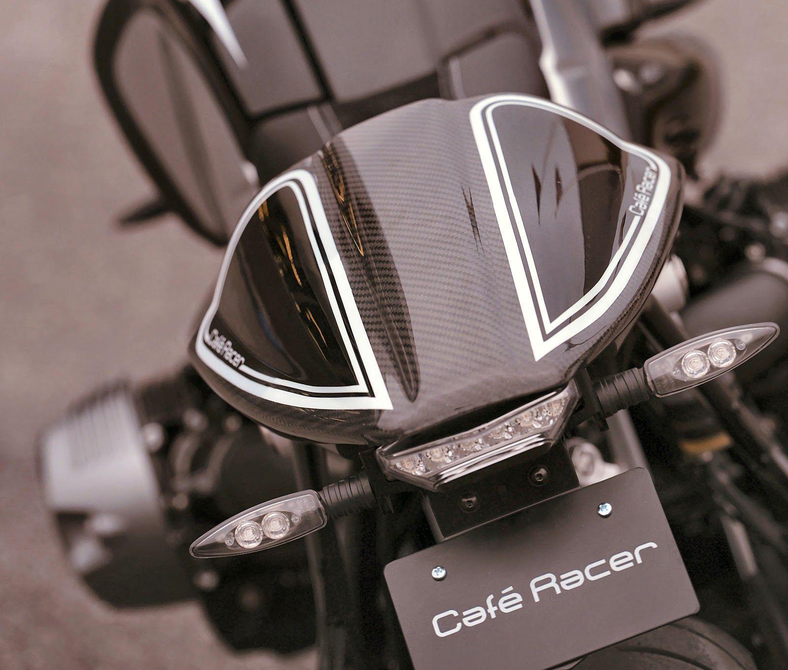 Racing Cafè: BMW R NineT Cafè Racer by Boxer Design