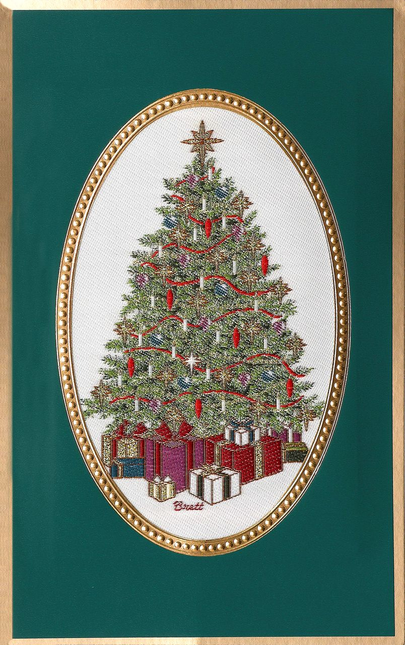 Brett Decorated Tree Christmas Cards | 2017 Brett Christmas card ...